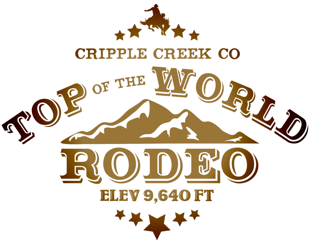 Top of the World Rodeo Dark Logo